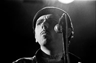 A picture of Kevin Rowlands of Dexys Midnight Runners.