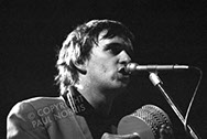 A photo of Chris Difford of Squeeze, taken in 1980.