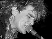 A picture of Mike Peters of the Alarm.